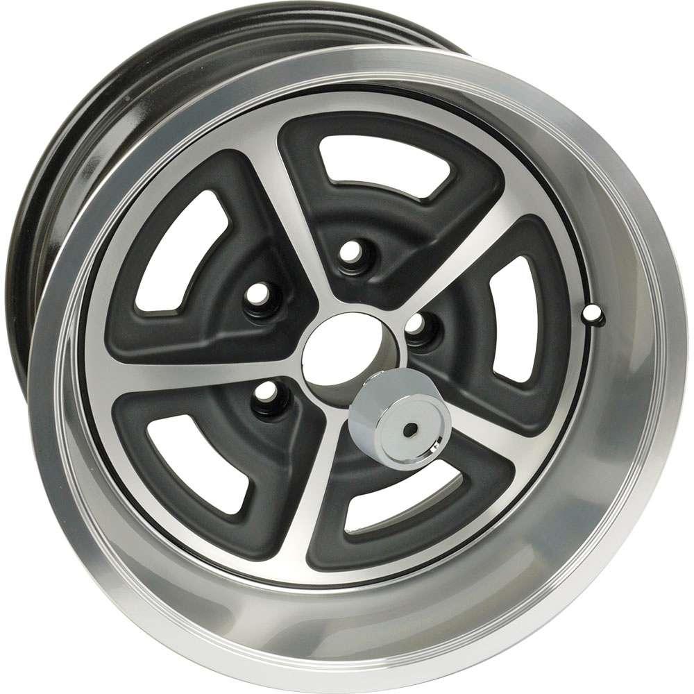 15 x 8 Magnum 500 Aluminum Alloy Wheel with Center Cap 5 X 45 Bolt Pattern