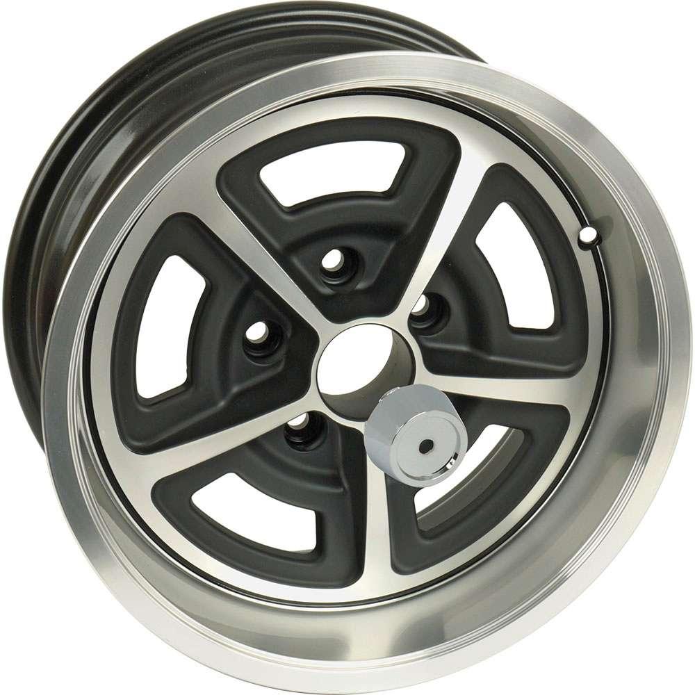 15 x 7 Magnum 500 Aluminum Alloy Wheel with Center Cap 5 X 45 Bolt Pattern