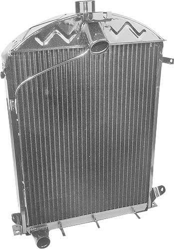 1930 1931 Ford Model A Radiator 3 Row 8 Fins Per Inch Flat Tube