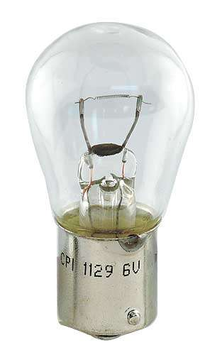 1919 Ford Model T Single Contact 6 Volt Light Bulb 1129 21 Candle Power